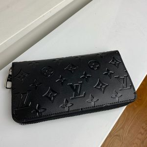 Louis Vuitton zippy wallet black
